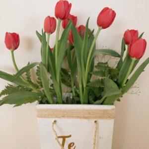 Arreglos con Tulipanes